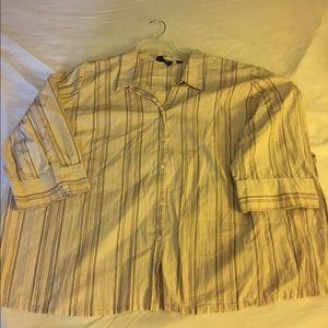 Tops - Striped blouse size 30-32 Avenue